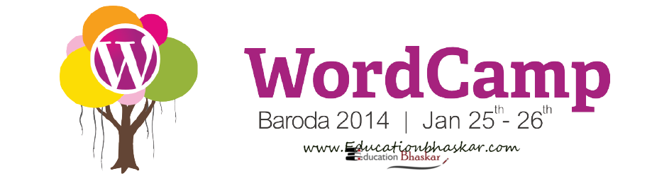 Wordcamp 2014 in Baroda.