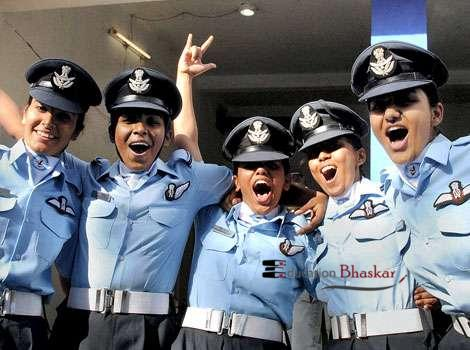 IAF Recruitment 2014 for women Education Bhaskar