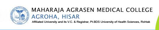 MAMC Agroha Hisar Haryana Logo