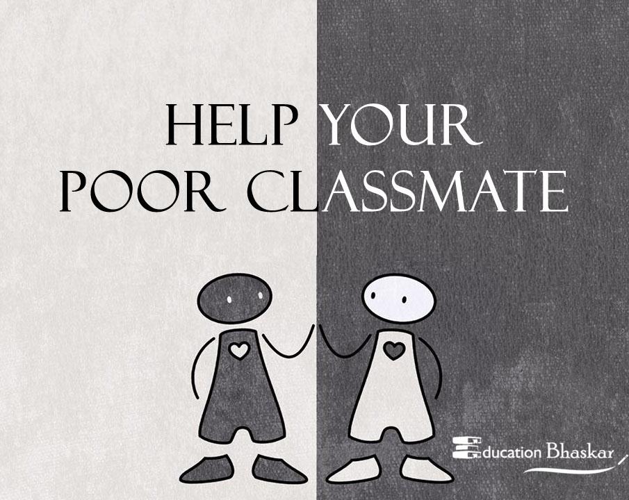 Help poor classmates
