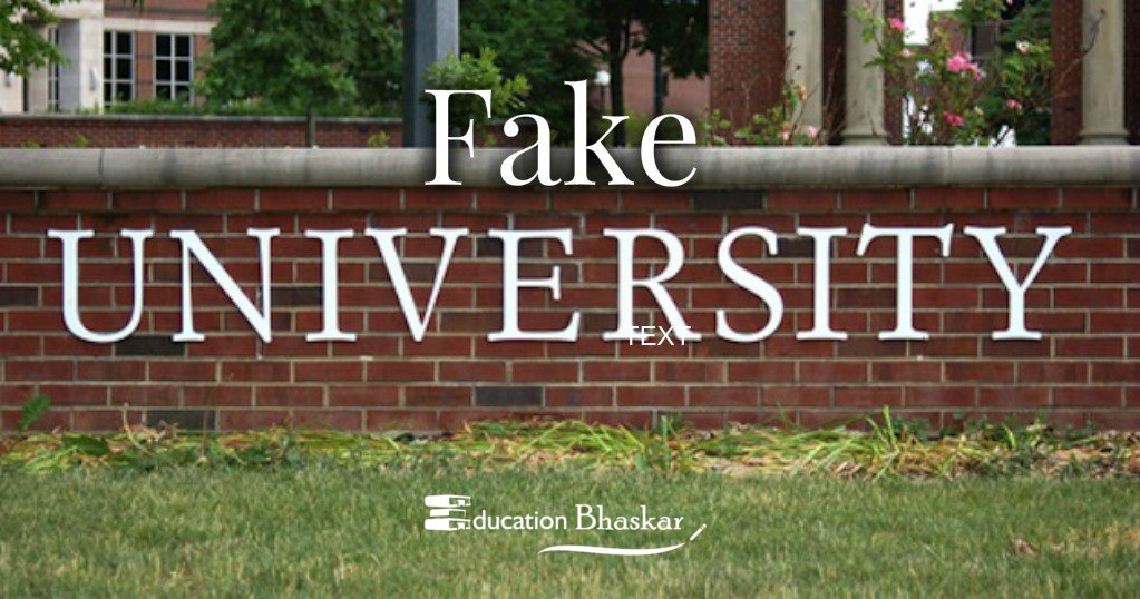 UGC's Fake Universities list