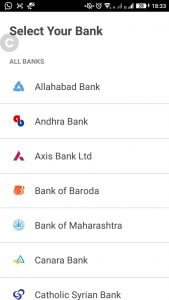 How to use UPI-based BHIM App for Send and Receive Payments Choose your bank