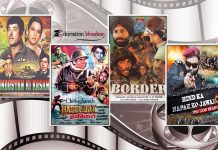 Indian Army Facts, Bollywood Movies on Indian Army, Hind Ka Napak Ko Jawab Poster