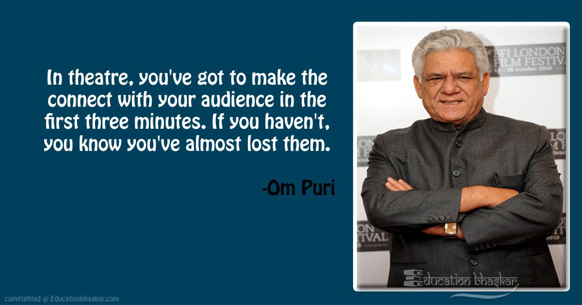 10 Veteran Actor Om Puri Quotes That Inspired Us For Life OM Puri Quotes 4 optimized