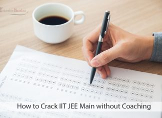 Crack IIT JEE Main without Coaching