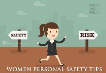 Women personal safety tips girl safety tips