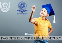 two degree courses simultaneously at the same time valid or not UGC DEC Order
