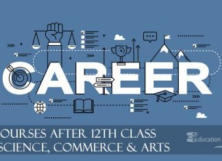 Career Courses after 12th in Science, Commerce and arts