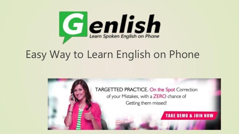 English Speaking on Classes Phone
