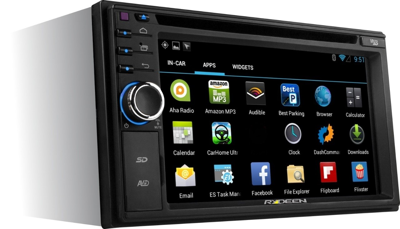 Difference Between Single DIN and Double DIN Car Music System double DIN audio system photo