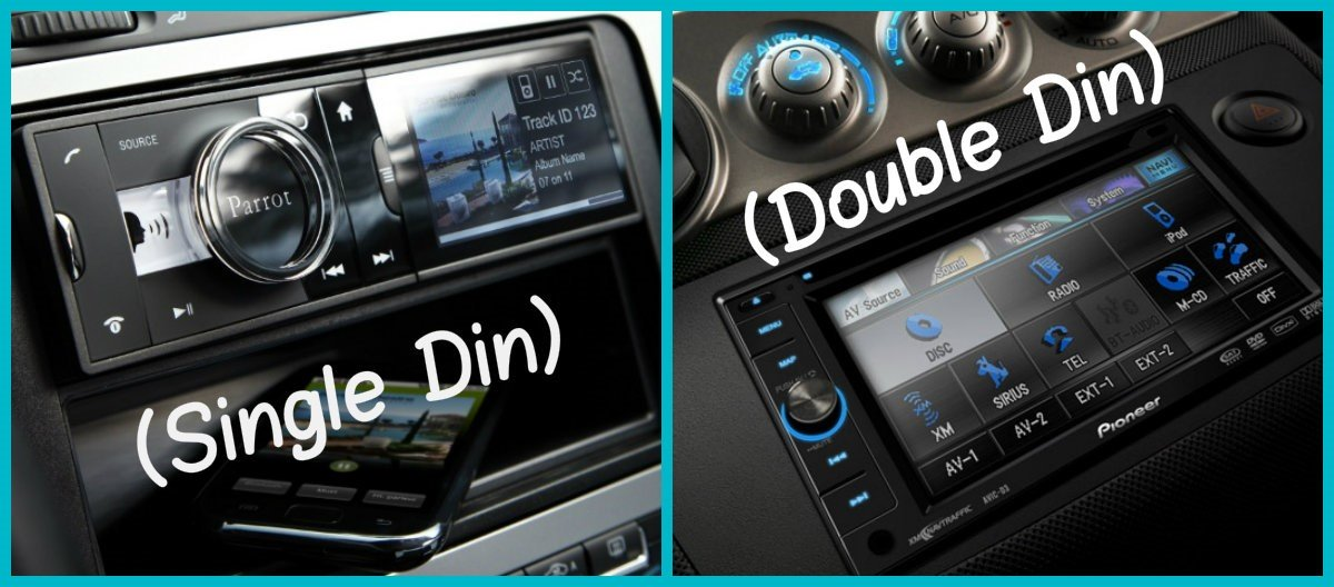 single and double DIN audio system photo