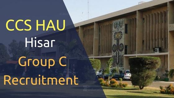 CCS HAU Hisar recruitment posts jobs vacancies news