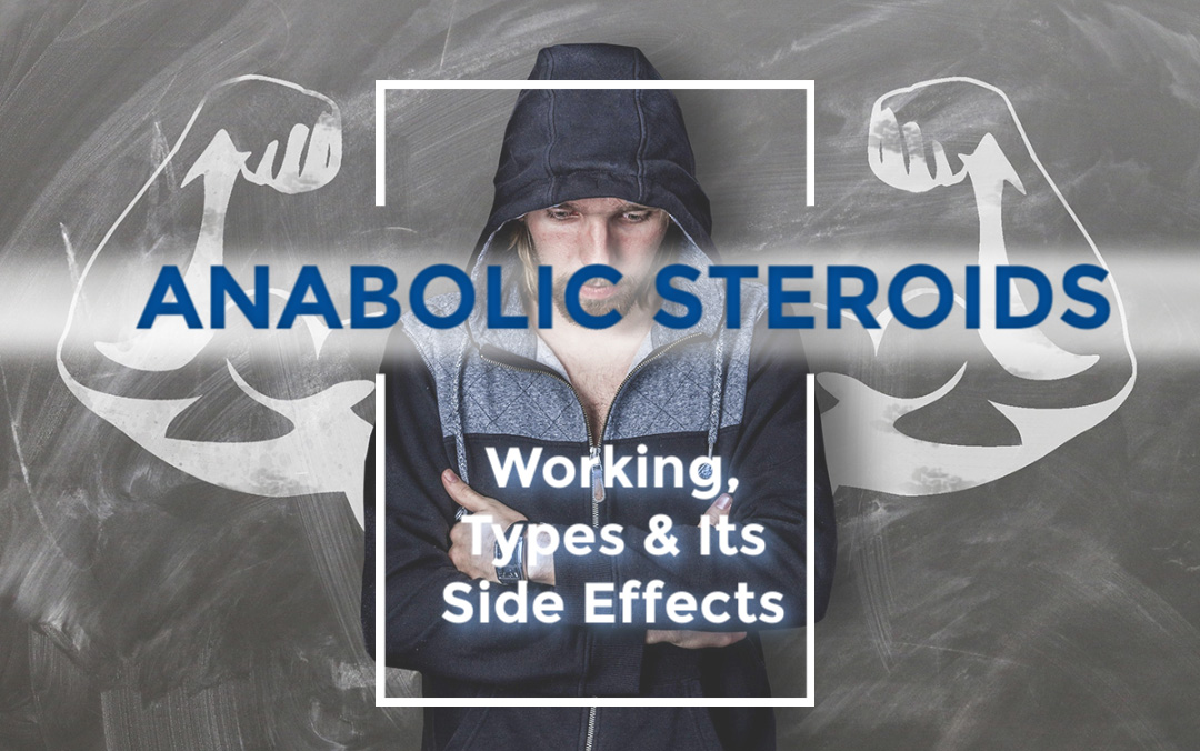 Anabolic steroids- Working, Types & Its Side Effects