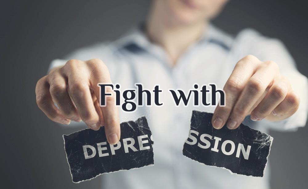 fight depression, deal depression, coping depression, treat depression