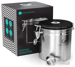 Coffee Gator Canister to Store Coffee Beans Fresh